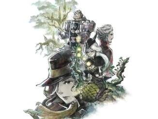 """Das Bild zeigt ein Artwork zu dem Spiel """"Bravely Default II"""". Man sieht die unterschiedlichsten Charaktere."""