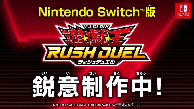 """Das Bild zeigt das japanische Logo von """" Yu-Gi-Oh! Rush Duel""""."""