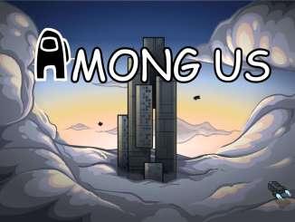 """Das Bild zeigt das Logo des Spieles """"Among Us""""."""