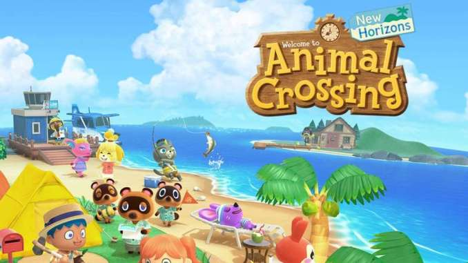 """Das Bild zeigt die Keyart von """"Animal Crossing: New Horizons"""", bestes First Party-Game laut Metacritic."""