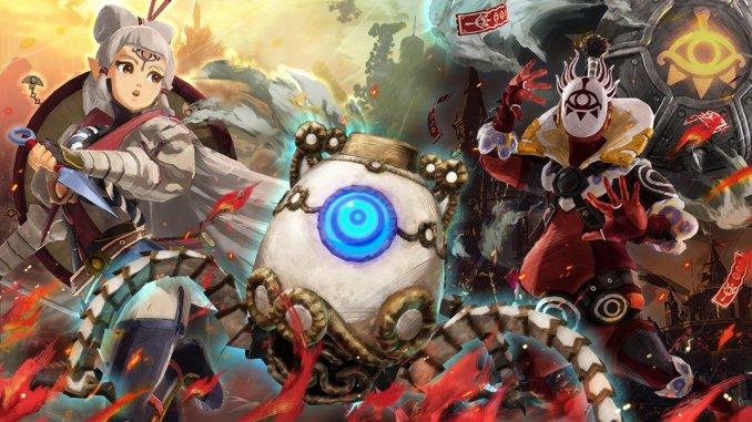 """Das Bild zeigt ein Artwork zum Thema """" Super Smash Bros. Ultimate"""" meats """"Hyrule Warriors: Zeit der Verheerung""""."""