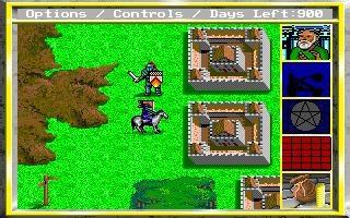 """Das Bild zeigt """"King's Bounty"""" von 1990."""