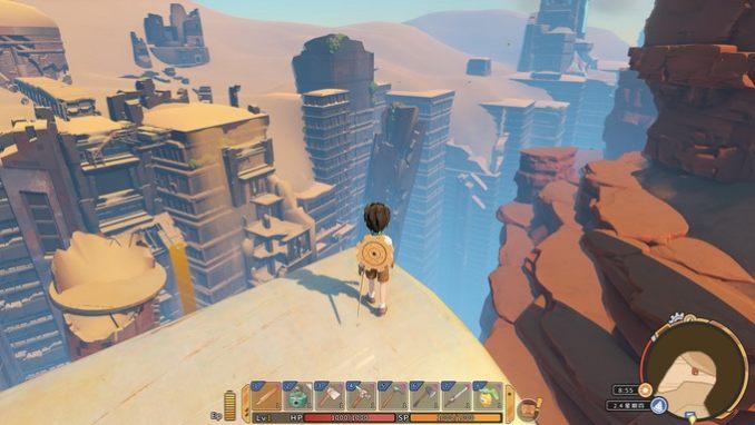"""Das Bild zeigt eine Szene aus dem Spiel """"My Time at Sandrock""""."""