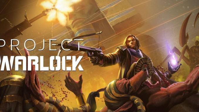"""Das Bild zeigt das Logo von """"Project Warlock""""."""
