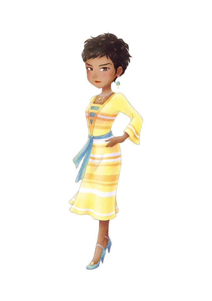 Das Bild zeigt einen Charakter aus dem Spiel.
