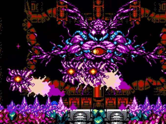 """Das Bild zeigt einen Boss Gegner aus dem Spiel """"Cyber Shadow"""""""