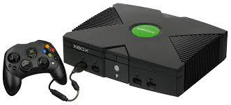 Das Bild zeigt die Microsoft Xbox.