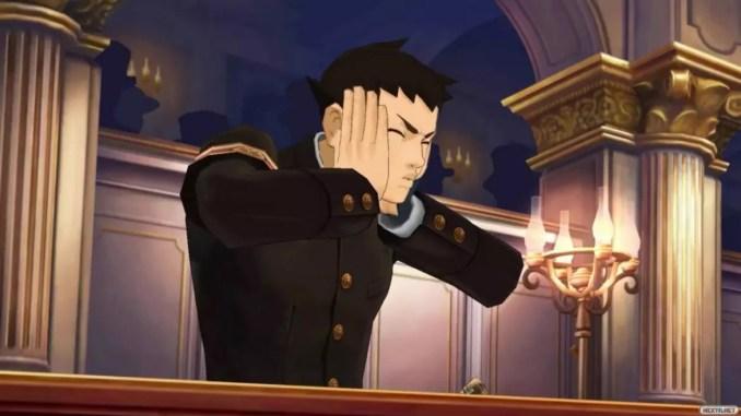 Dieses Bild zeigt den Protagonisten aus  The Great Ace Attorney Chronicles