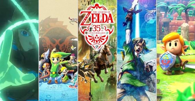 Das Bild zeigt mögliche Zelda-nahe Ankündigungen für die Nintendo Direct.