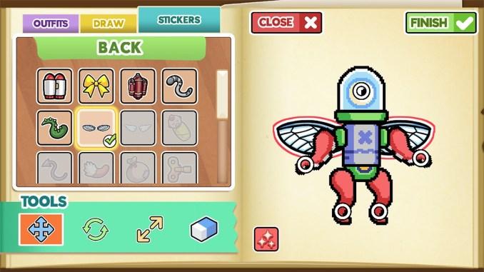 """Das Bild zeigt eine Szene aus dem Spiel """"Drawn to Life: Two Realms""""."""