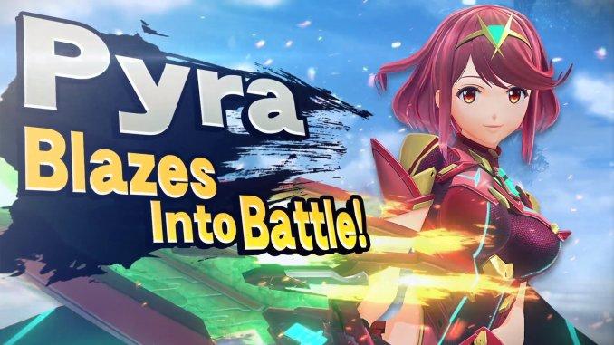 "Das Bild zeigt Pyra in ""Super Smash Bros. Ultimate""."