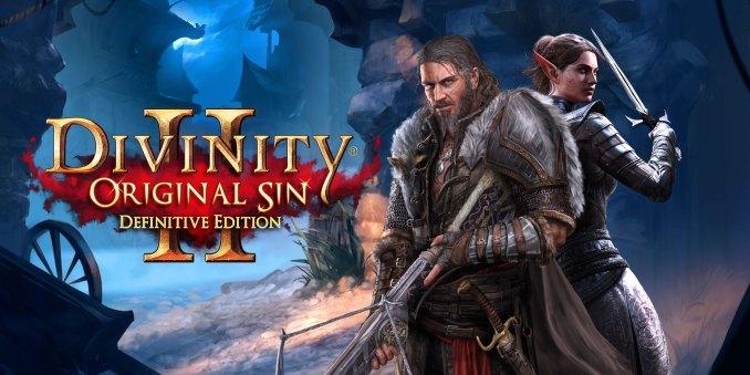 Das Bild zeigt zwei Charaktere aus dem Spiel Divinity Original Sin.