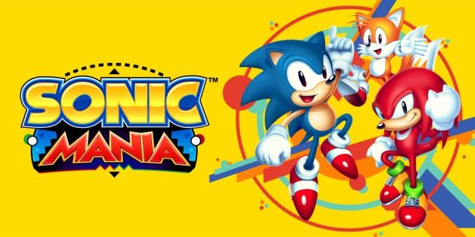 Das Bild zeit 3 Charaktere aus dem Spiel Sonic Mania