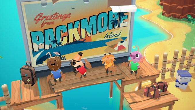 Das Bild zeigt die neuen spielbaren Charaktere aus Moving Out – Movers in Paradise