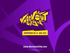 """Das Bidl zeigt das Logo von """"Knockout City""""."""
