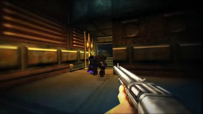 """Das Bild zeigt eine Szene aus """"Turok 2: Seeds of Evil""""."""