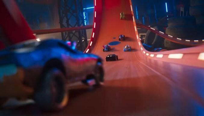 """Das Bild zeigt ein Streckenausschnitt aus """"Hot Wheels Unleashed""""."""