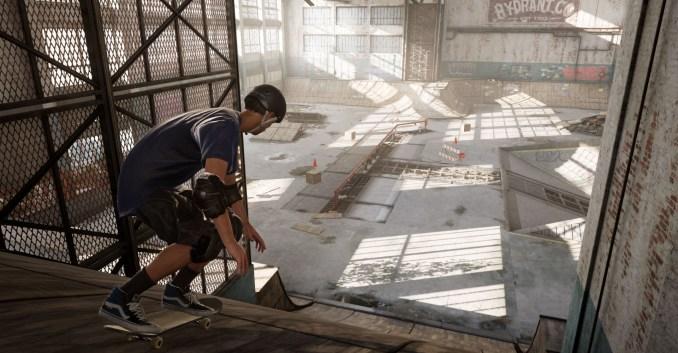 """Das Bild zeigt eine Szene aus """"Tony Hawk's Pro Skater 1+2""""."""