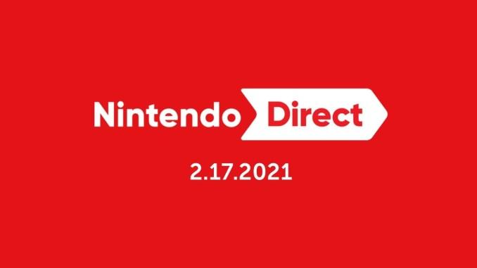 Das Bild zeigt das für Nintendo-Fans so wichtige Direct-Logo.