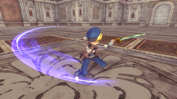"""Das Bild zeigt eine Waffe aus dem Spiel """"Rune Factory 5""""."""