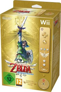 """Das Bild zeigt die limitierte Edition vom """"Skyward Sword"""" für die Wii."""