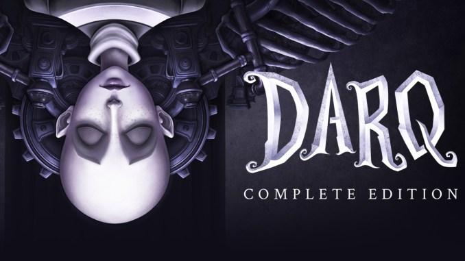 """Das Bild zeigt das Logo von """" DARQ Complete Edition""""."""