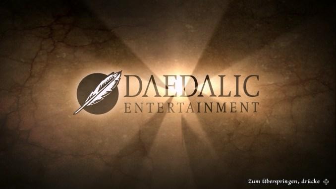 Das Bild zeigt den Schriftzug von Daedalic Entertainment.