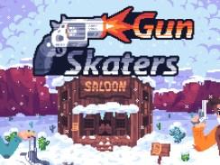 """Das Bild zeigt das Logo von """"Gun Skaters""""."""