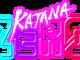 """Das Bild zeigt das Logo von """"Katana ZERO""""."""