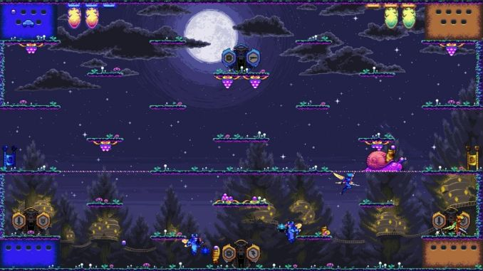 """Das Bild zeigt eine Szene aus dem Spiel """"Killer Queen Black""""."""
