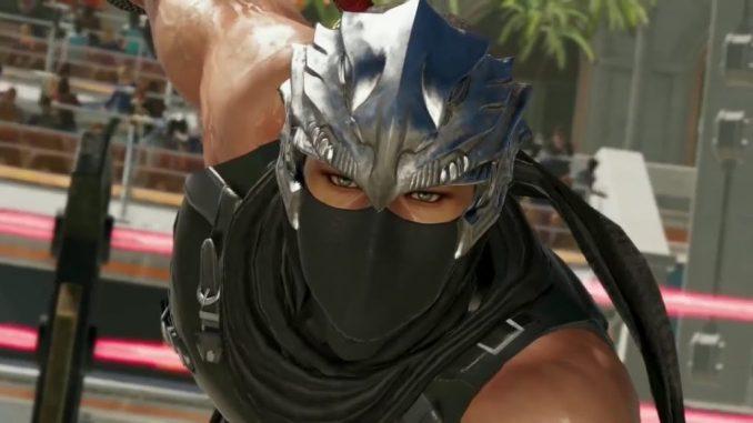 Das Bild zeigt den Hauptcharakter Ryu Hayabusa aus dem Spiel Ninja Gaiden