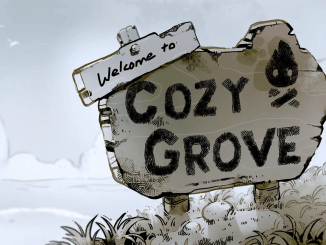 "Das Bild zeigt das Logo gerne ""Cozy Grove""."