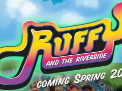 """Das BIld zeigt das Logo von """"Ruffy and the Riverside""""."""