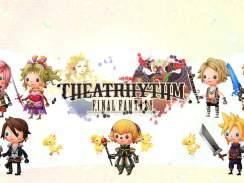 Das Bild zeigt den Titel des SpielsTheatrhythm Final Fantasy