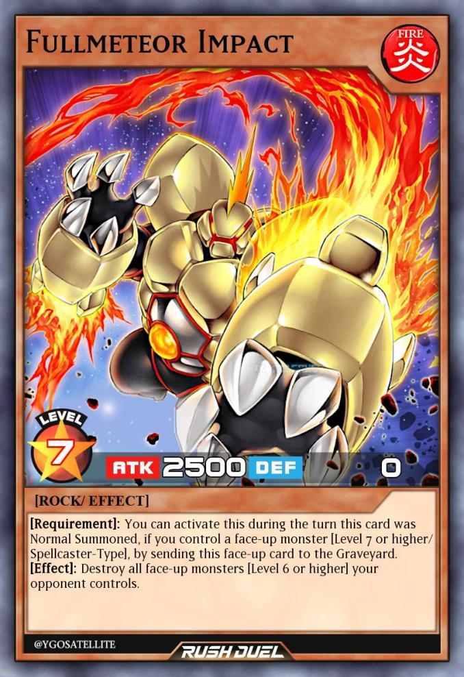 """Das Bild zeigt eine Rush Duel-Karte aus dem Spiel """"Yu-Gi-Oh! Rush Duel""""."""