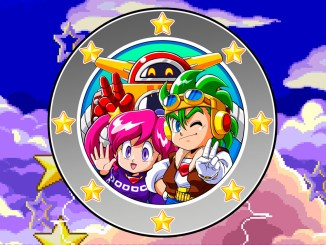 Das Bild zeigt uns die Hauptcharaktere aus dem Spiel Clockwork Aquario