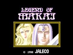 """Das Bild zeigt das Logo des Spiels """"Legend of Makai""""."""