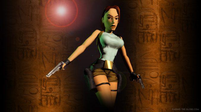 """Das Bild zeigt Lara Croft aus dem ersten Titel der """"Tomb Raider""""-Reihe."""