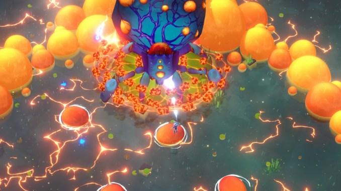 """Das Bild zeigt eine Szene aus dem Spiel """"Godstrike""""."""