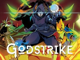 """Das Bild zeigt das Logo von """"Godstrike""""."""