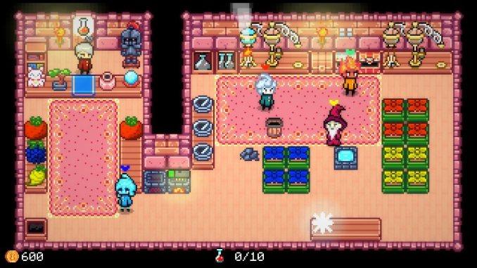 """Das Bild zeigt eine Szene aus dem Spiel """"Potion Party""""."""