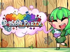 """Das ild zeigt das Logo von """"Potion Party""""."""