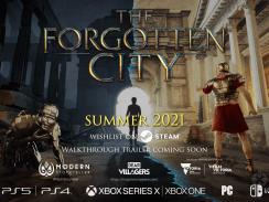 """Das Bild zeigt das Logo von """"The Forgotten City""""."""