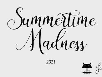 """Das Bild zeigt das Logo von """"Summertime Madness""""."""