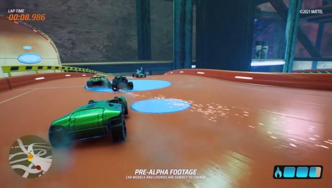 """Das Bild zeigt eine Szene aus """"Hot Wheels Unleashed""""."""