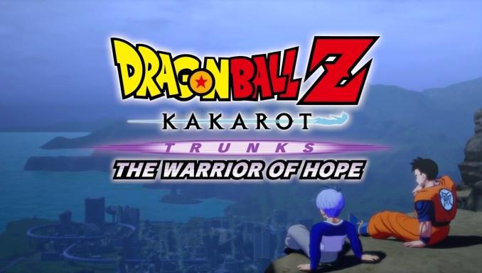 """Das Bild zeigt den Titel des dritten DLCs von """"Dragon Ball Z: Kakarot""""."""