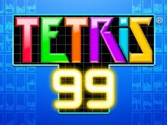 """Das Bild zeigt das Logo von """"Tetris 99""""."""