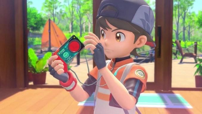 Das Bild zeigt den Avatar aus dem Spiel New Pokémon Snap.