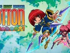Das Bild zeigt das Titelbild des Spiels Cotton Reboot