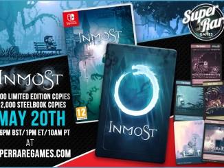 """Das Bild zeigt die physische Fassung des Spieles """"Inmost""""."""